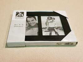 "Malden International Designs 3 12"" x 5"" Double Black Picture Frame (NEW) - $9.85"