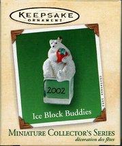 Hallmark Keepsake Ornament Ice Block Buddies 2002 QXM4356 - $4.95