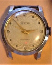 Vintage Lord Nelson Men's Watch Working Aluminum Case Swiss Made - $44.55