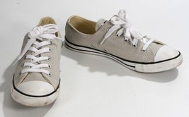 CONVERSE All Star Low Tops Shoes Sneakers Ladies Girls Women's Size 6 Light Gray - $24.19