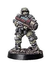 Spellcrow 28mm Miniatures Shock Troop w/Plasma Rapid Weapon