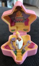 1992 RARE POLLY POCKET BALLERINA SWAN RING & DOLL COMPLETE COMPACT CASE EUC - $118.79