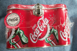 Six Pack Coca Cola Tin Can / Lunch Box Shrink Wrap Sealed Contains Jawbreakers - $11.86