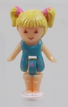 1992 Vintage Lot Polly Pocket Doll Dolphin Pen Pal - Tiny Tina Bluebird - $7.50