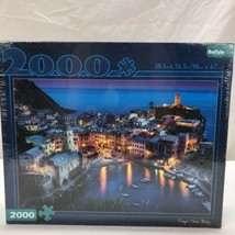 Buffalo Games Puzzle - Cinque Terre Italy - 2000 Piece Jigsaw Puzzle - New - $18.46