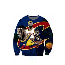 New Fashion Long sleeve Sweatshirts SuperStar LeBron James 3d print Hara... - $29.90