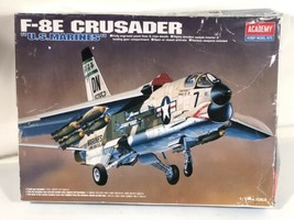 Academy Hobby Model Kits F-8E US Marines Fighter Jet Model - $44.54