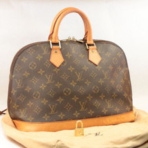 Louis Vuitton Monogram Alma Hand Bag M51130 Lv Auth 7780 - $450.00