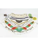 Vintage Necklace, Bracelet & Brooch 21 Lot, Mixed Designer, Multi-Strand... - $29.40