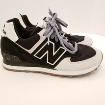 New Balance Men's Size 7 Black and White Running Sneakers USA Made Classic Shoe image 1