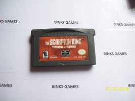 Scorpion King: Sword of Osiris (Nintendo Game Boy Advance, 2002) AUTHENTIC - $4.67