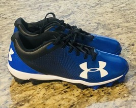 Under Armour Ua Leadoff Low Rm Men's Baseball Cleats Size 9.5, Blue 1297317 001 - $19.68