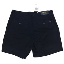New Polo Ralph Lauren Chino Shorts ALL SIZES Classic Fit 6'' Aviator Navy Flat - $31.99