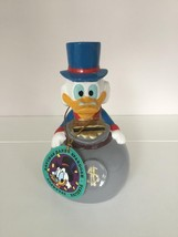 Extremely Rare! Walt Disney Scrooge McDuck Gray Money Old Piggy Bank Fig... - $113.83