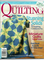 Feb 2008/American Patchwork & Quilting/Preowned Craft Magazine - $3.99