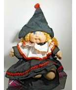 Cabbage Patch Halloween Witch Costume Clowns Collar Clothes Outfit 4 Pc ... - $29.69