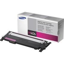 Samsung CLT-M406S Original Toner Cartridge - Laser - 1000 Pages - Magent... - $70.87