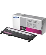 Samsung CLT-M406S Original Toner Cartridge - Laser - 1000 Pages - Magent... - $70.87