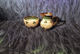 Antique Wade Harvest Ware Made In England Creamer and Sugar Bowl - $13.99