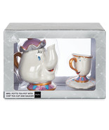 Disney Parks Mrs. Potts and Chip Tea Set Beauty and the Beast New With Box - $87.29