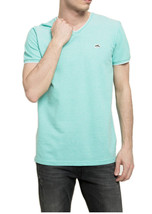 NEW MENS LE SHARK CHASING THE DREAM LIGHT BLUE V NECK T SHIRT TEE XL - $17.81