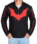 Batman Black Beyond Terry Mcginnis Red Logo Bomber Cosplay Costume Fleec... - $69.00
