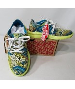 VANS ISO 2+ LEOPARD PAISLEY OFF THE WALL LIGHTWEIGHT SHOES MEN SZ 3.5 WO... - $39.19