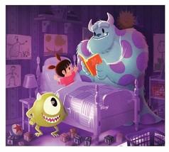 Disney WonderGround Gallery Monsters Inc Sulley & Mike Postcard Eunjung ... - $9.48