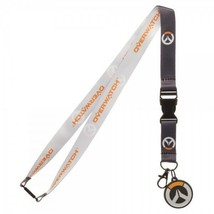 Overwatch Logo Video Game ID Badge Holder Keychain Lanyard - $9.00