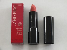 Shiseido Perfect Rouge Lipstick #OR341 - Full Size - New In Box - $14.84