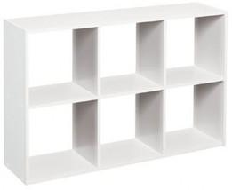 ClosetMaid 1578 Cubeicals Mini 6-Cube Organizer, White - $31.74