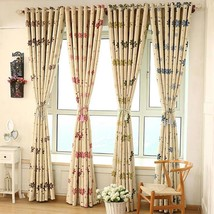Full Shading Curtains High Precision Drapes For Living Room Bedroom Home... - $21.90
