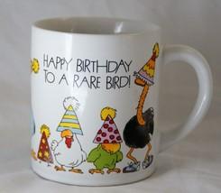 Happy Birthday to a Rare Bird Mug Applause Humor - $7.17