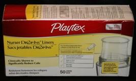 Playtex Nurser Drop-Ins Liners 50pcs 8 - 10 oz Baby Bottles Linings New ... - $14.55