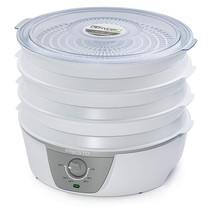 Presto 06302 Dehydro Electric Food Dehydrator with Adjustable Thermostat - £109.63 GBP