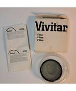 Vivitar 52mm 2x Neutral Density  Filter ND3 w/ case, box.   Excellent co... - $16.73