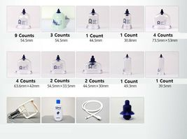 SeoulMedical Cupping Therapy Equipment 28 Cups Set with Pumping Handle and Hose image 3
