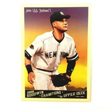 Derek Jeter 2009 Upper Deck Goodwin Champions Preview Insert Yankees MLB... - $9.85