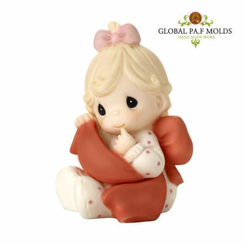 Primary image for Sugarcraft Mold Polymer Clay Soap Molds Resin Candy Chocolate 3D Girl mold 676