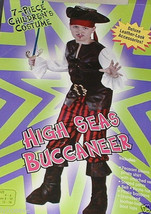 New High Seas Buccaneer Costume 2left free shipping w/buy it now price - $26.73
