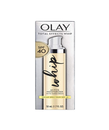 Olay Total Effects Whip Active Moisturizer With Sunscreen Spf 40 1.7 Oz Ex 06/21 - $12.30
