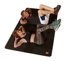 Large Exercise Mat Cardio Yoga Gym Fitness Gymnastics Thick Workout Equi... - $138.85