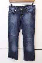 W13019 Womens Citizens Of Humanity Blue Simone 104 Low Waist Bootcut Jeans 2 - $48.27