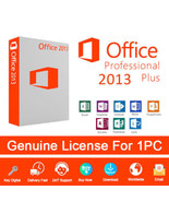 Microsoft Office Professional Plus 2013 Genuine Lifetime Code & Download... - $7.99