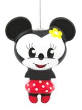 Hallmark Disney Minnie Mouse Decoupage Navidad Ornamento Nuevo con Etiqueta