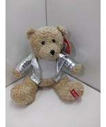 Galerie Hershey's Kisses Biker Teddy Bear Stuffed Animal Plush Toy  - $16.81