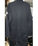 BULWARK Men's Navy Blue Flame Resistant Premium Coverall CEC2NY5 38R - $53.46