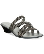 Karen Scott Embir Sandals Women's Shoes Size 8M Black - €23,10 EUR