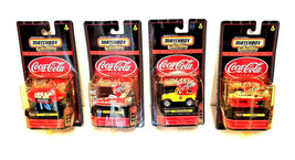 Coca Cola Match Box Collectibles The Enduring Characters Edition Lot of 4 - $62.76
