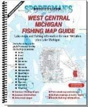 West Central Michigan Fishing Map Guide (Sportsman's Connection) Michiga... - $33.24